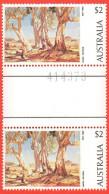 AUS SC #574 MNH GP  1974 Red Gums Of The Far North, H. Heysen, CV $7.50+ - Mint Stamps