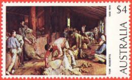 AUS SC #576 MNH 1974 Shearing The Rams, Tom Roberts, CV $7.50 - 1966-79 Elizabeth II