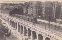 75 - PARIS - AUTEUIL - La Gare Du Point Du JOUR - Petite Ceinture - (train, Gare Intérieur) - Ed J.Géry - Métro Parisien, Gares