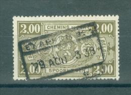 """BELGIE - OBP Nr TR 150 - Cachet  """"EXAERDE Nr 1"""" - (ref. VL-3581) - Ferrocarril"""