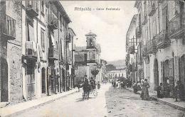 [DC5162] CARTOLINA - ATRIPALDA - CORSO NAZIONALE - ANIMATA - CARROZZA - Viaggiata 1929 - Old Postcard - Avellino