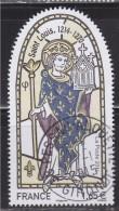 = Issu Du Bloc Doré Salon 2014 N°135 Timbres 4857 Oblitéré Les Grandes Heures De L'Histoire De France Saint Louis - Oblitérés