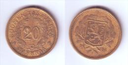 Finland 20 Markkaa 1934 - Finland