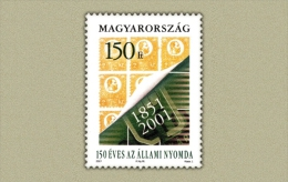 Hungary 2001. National Druck Stamp MNH (**) Michel: 4700 / 2.40 EUR - Ungarn