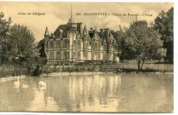 CPA 24 BEAUPOUYET CHATEAU DE FOURNIL L ETANG - France