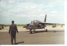 "PHOTO 10X15 : CAMBRAI  MAI 1994 BASE AERIENNE 103  - "" ALPHA-JET "" ( Animées - AERODROME  - AVION ) - Cambrai"