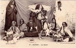 MAROC – La Danse ( Femme Seins Nus ) - Altri