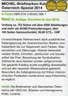 Spezial Katalog 2014 MICHEL Briefmarken Österreich Neu 60€ Bosnien Lombardei Venetien Special Catalogue Stamp Of Austria - Zeitschriften: Abonnement
