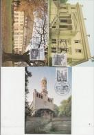 Berlin 1982 Berliner-Ansichten 3v 3 Maximum Cards (19047) - [5] Berlijn
