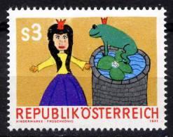 ÖSTERREICH 1981 ** Märchen - Der Froschkönig - ANK 1704 MNH - Märchen, Sagen & Legenden