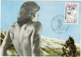 FRANCIA - France - 1975 - Carte Maximum - FONDATION SANTE DES ETUDIANTS DE FRANCE - FDC - Cartoline Maximum