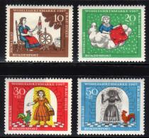 BRD 1967 ** Frau Holle Von Brüder Grimm - MiNr. 538-541 Kompletter Satz MNH - Märchen, Sagen & Legenden