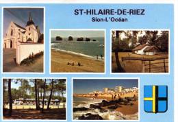 -  CPSM  -  85 - SAINT-HILAIRE-DE-RIEZ - 915 - Saint Hilaire De Riez