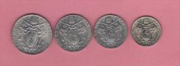 Vaticano Papa Pio XII 0,20 + 0,50 + 1 + 2 Lire 1941 - Vaticano