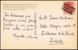 "BADAJOZ - EDI O 269 - EP CIRC. - CARTERIA \""GRANJA DE TORREHERMOSA\ - 1889-1931 Kingdom: Alphonse XIII"