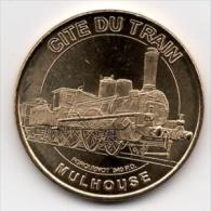 Mulhouse - 68 : Cité Du Train (Monnaie De Paris - 2011) - Monnaie De Paris