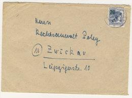 Berlin Michel No. 66 auf Brief EF