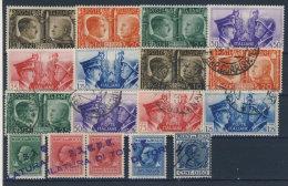 Lot Italien Michel No. 623 - 628 * ungebraucht / gestempelt used + Geb�hrenmarken