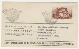 Spanien Michel No. 969 FDC