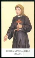Santino - Canonizzazione Della Beata Teresa Manganiello - Venerata In Pietradefusi (AV) - Santini