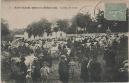71 SAINT CHRISTOPHE EN BRIONNAIS, Champ De Foire, Trés Belle Animation - Autres Communes