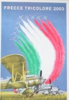 REGIA AERONAUTICA FRECCE TRICOLORI FIAT CR 32 ANNI TRENTA MACCHI MB 339 PAN - 1939-1945: 2nd War