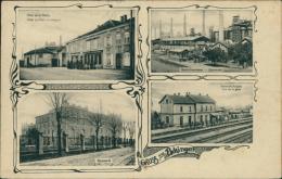 57 UCKANGE /  Hôtel De La Poste, Hauts Fourneaux, Gare, Brauerei / CARTE RARE - France