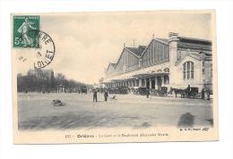 (2212-45) Orléans - La Gare Et Le Boulevard Alexandre Martin - Orleans