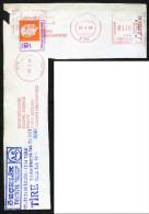 Machine Stamps (ATM) Red Special Cancels TİRE 25.2.86 (#87) - 1921-... République
