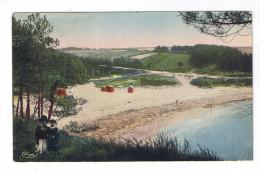 MOELAN KERFANY  LA PLAGE  CARTE RARE - Moëlan-sur-Mer
