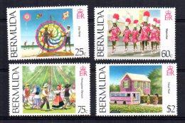 Bermuda - 1995 - Cultural Heritage (2nd Series) - MH - Bermudes