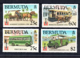 "Bermuda - 1996 - ""CAPEX"" International Stamp Exhibition/Local Transport - MH - Bermudes"