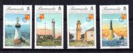 Bermuda - 1997 - Hong Kong International Stamp Exhibition/Lighthouses - MH - Bermudes