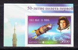 KGZ-    80    KYRGYSZTAN – 2013 WOMAN IN SPACE.
