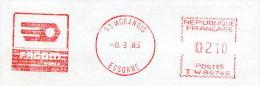 EMA Illustrée Sur Lettre,transistor TIP Avec 3 Pates A Souder,FACOM, Enveloppe Obliterée 91 Morangis 8.3.85 - Physique