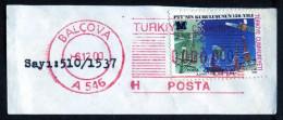 Machine Stamps (ATM) Red Special Cancels BALCOVA 6.12.2000 (#81) - 1921-... République