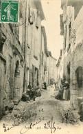 CPA 84 PERTUIS UNE VIEILLE RUE 1908 - Pertuis