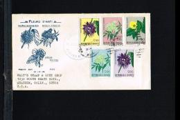 Flora - Flowers - Useful Plants - FDC Haiti 1965 [FW048] - Végétaux