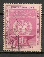 Timbres - Amérique - Nations Unies - 1957 - 8 C. - - New-York - Siège De L'ONU
