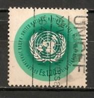 Timbres - Amérique - Nations Unies - E.s 1.00 - - New-York - Siège De L'ONU