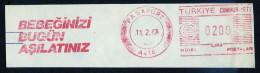 Machine Stamps (ATM) Red Special Cancels PASAPORT 11.2.87 (#42) - 1921-... République