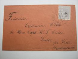 1884,  Brief Nach Deutschland - Briefe U. Dokumente