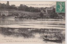 Collonges-au-Mont-d´Or   -  La Saône, Le Restaurant Bocuse Et Le Château - Andere Gemeenten