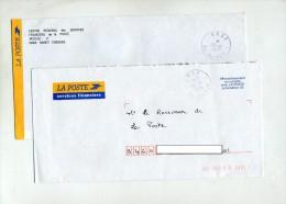 Lettre Franchise Et En Compte Cachet Nancy CRSF - Marcophilie (Lettres)