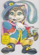 Livre Silhouette LE CHAT BOTTE Dessins Tonelli Edition SELM Collection Petite Fleur - Non Classés
