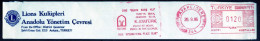 Machine Stamps (ATM) Red Special Cancels KAVAKLIDERE 26.9.86 (#28) - 1921-... République