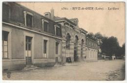 42 - RIVE-DE-GIER - La Gare - SF 2562 - Rive De Gier