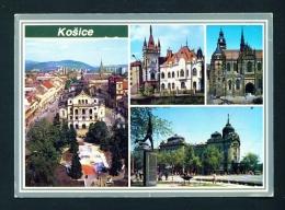 SLOVAKIA  -  Kosice  Multi View  Used Postcard As Scans - Slovakia