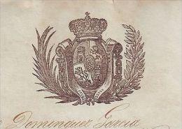 *E739 CUBA SPAIN ESPAÑA 1868 MARRIAGE CERTIFICATE. REG INFANTA 2 BATALLON. CERTIFICADO DE MATRIMONIO - Documents Historiques