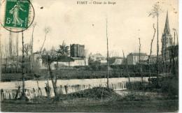 CPA 24 EYMET CHUTES DU DROPT 1912 - France